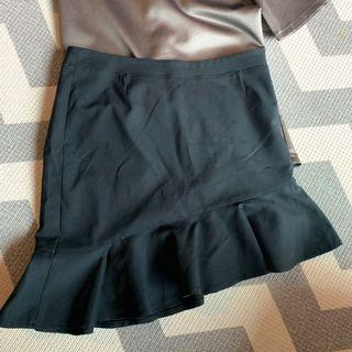 Esprit Black asymmetrical skirt