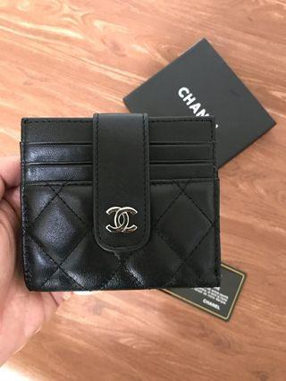 chanel authentic vip gift wallet