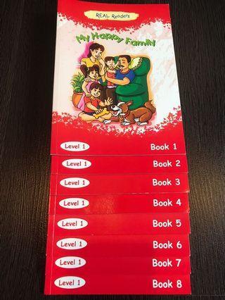 Preschool English Learners-Level 1 (1 set 8 books)