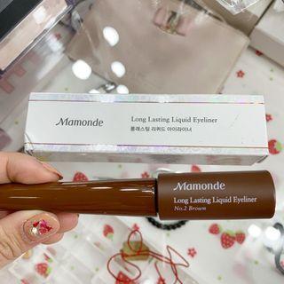 MAMONDE long lasting liquid eyeliner 100% ORI COUNTER & BARU