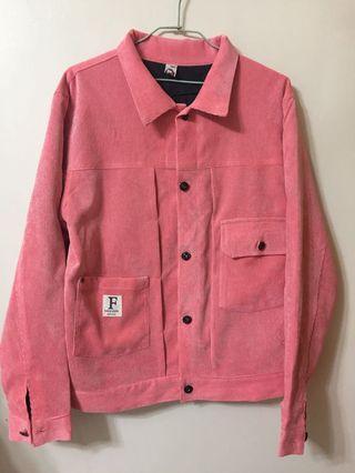 襯衫式芯絨布料夾克