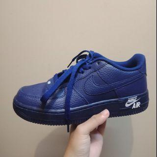 Nike Airforce 1 gs leather