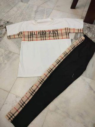 Burberry 2in1 set top and pants