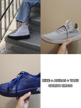 uk4 combo vans nike adidas