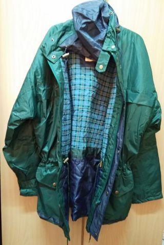Waterproof Thick Rain Jacket with Hoodie