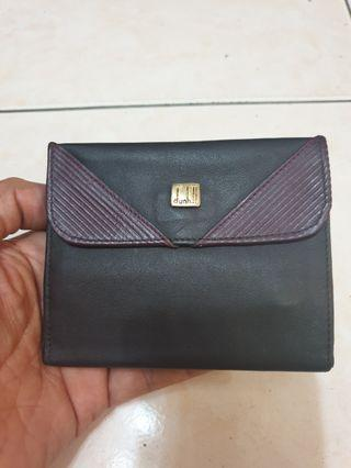 Authentic Dunhill leather Wallet