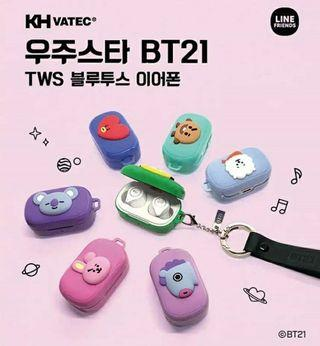 BT21 Bluetooth Earphone