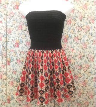 MOBORO Red Polkodot Vintage Skirt