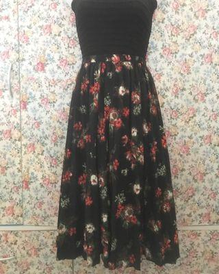 GU Floral Skirt