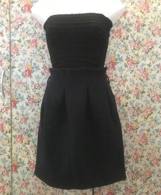 LILY BROWN Dark Blue Skirt