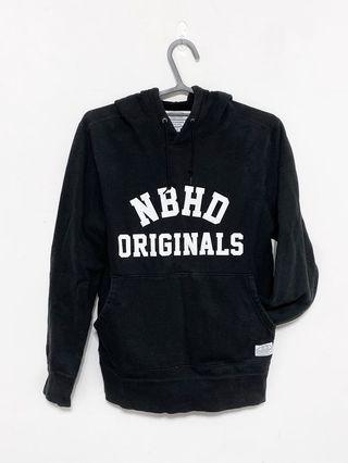Neighborhood 黑色長袖帽衣