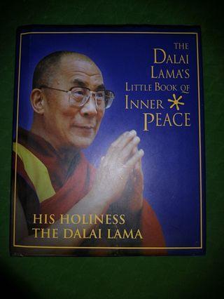 The Dalai Lama's Book of Inner Peace (Hardcover)
