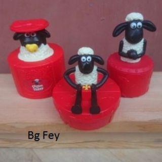 Shaun The Sheep Happy Meal Mc Donald 2015 - 3 bh