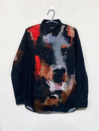 Givenchy Doberman 杜賓犬 襯衫
