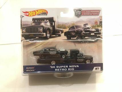 Hot Wheels Team Transport - '66 Super Nova Retro Rig