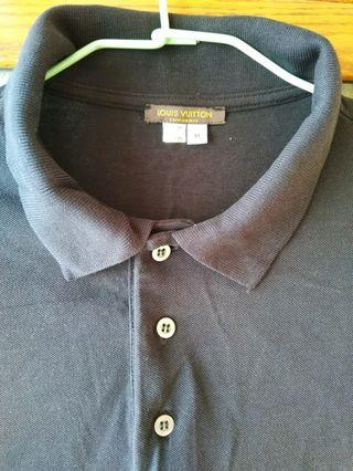 LV Black mesh shirt