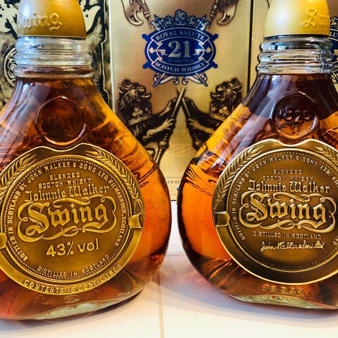 1990 Johnnie Walker Swing Scotch Whisky 750ml