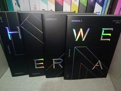 Clearance MONSTA X WE ARE HERE Album