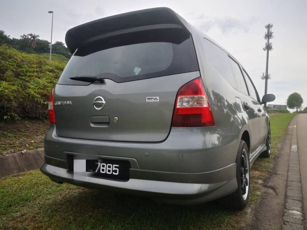 2010 Nissan GRAND LIVINA 1.6 (A) B/L LOAN KEDAI DP 3K