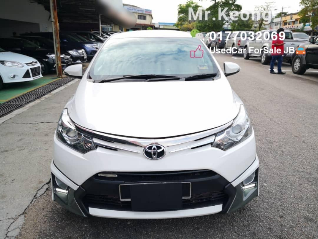 2014TH🚘Toyota VIOS 1.5At TRD Full Bodykit Spec🎉JBPlate Cash OfferPrice💲Rm54,300 Only!! Blacklist/Name Masalah Can Loan‼ LowestPrice InJB‼ Muka Rm4-5K Confirm Lulus🎉Bulanan Rm820 Only!! Call📲 KeongForMore🤗