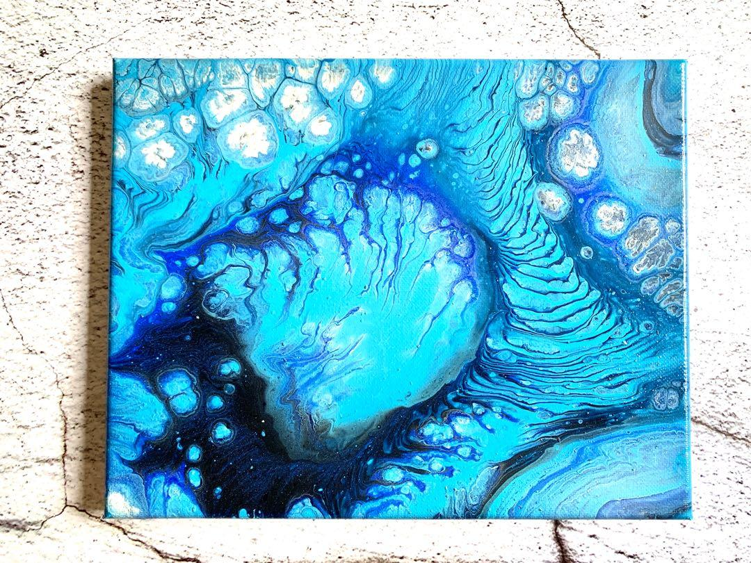 20x25cm Canvas Painting Abstract Painting