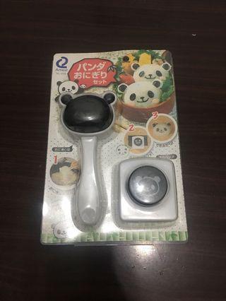 貓熊造型飯糰製作器+擠花筆