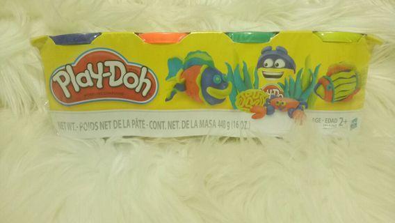 New!  Hasbro Play-Doh 448gr (4 jar)