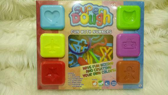 New EMCO Super Dough Fun with Numbers