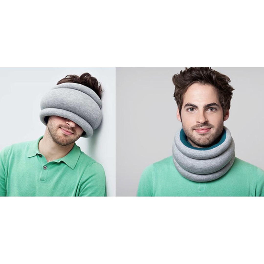 2-in-1 travel pillow (brand new, lightweight)