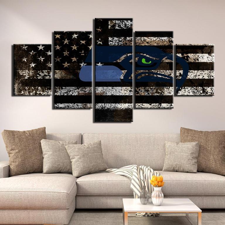 5 Panel Modern Thin Blue Line😊