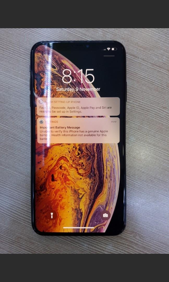 92% BATTERY HEALTH LIKE NEW IPHONE XS MAX 64GB SPACE GRAY