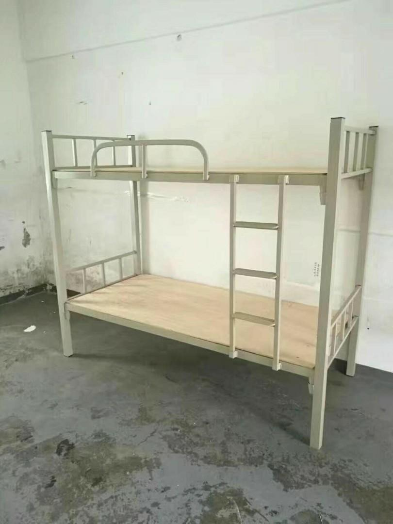 香港上下鋪鐵床圓工宿舍床
