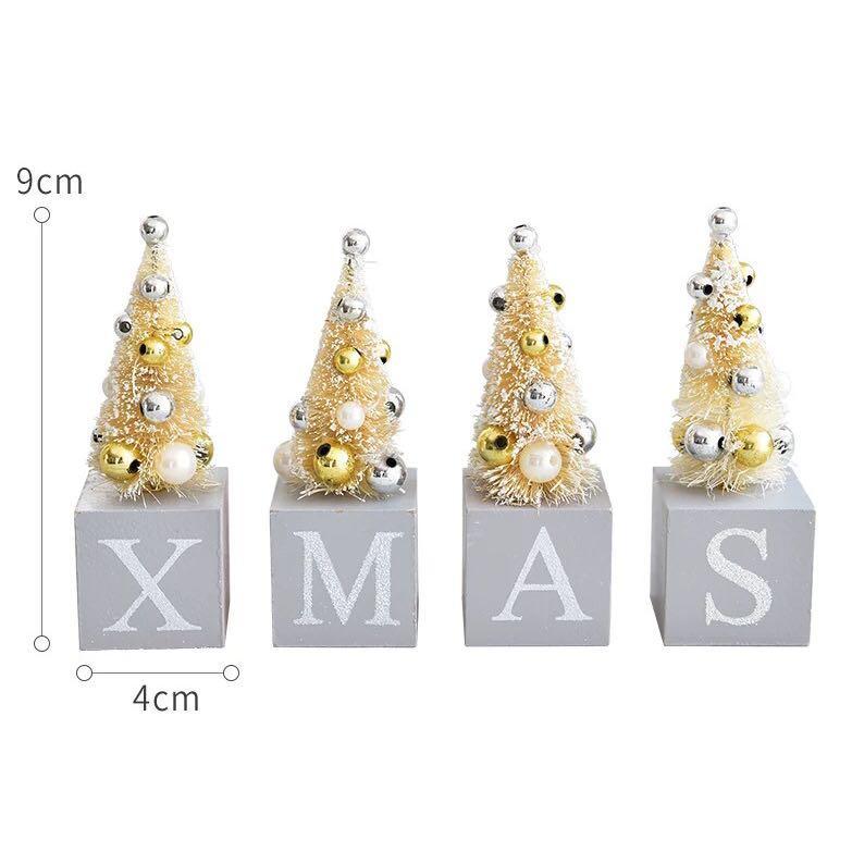 限量 訂造🎄聖誕樹 XMAS 餐廳酒店家具 擺設 裝飾 禮物 XMAS  Christmas TREE HOME RESTAURANT HOTEL Decoration  GIFT ( 4 個)