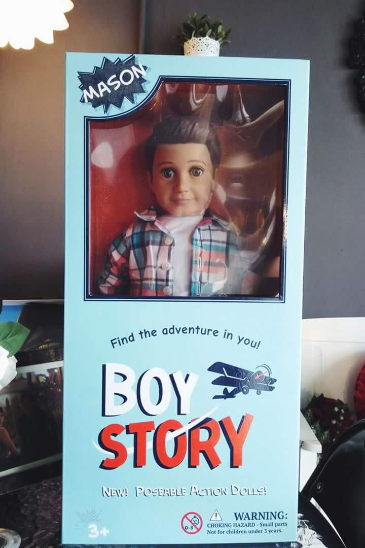 🆕 Boy Story Mason Doll