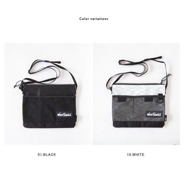 [現貨][全新][黑色]WILD THINGS SACOCHE SHOULDER BAG
