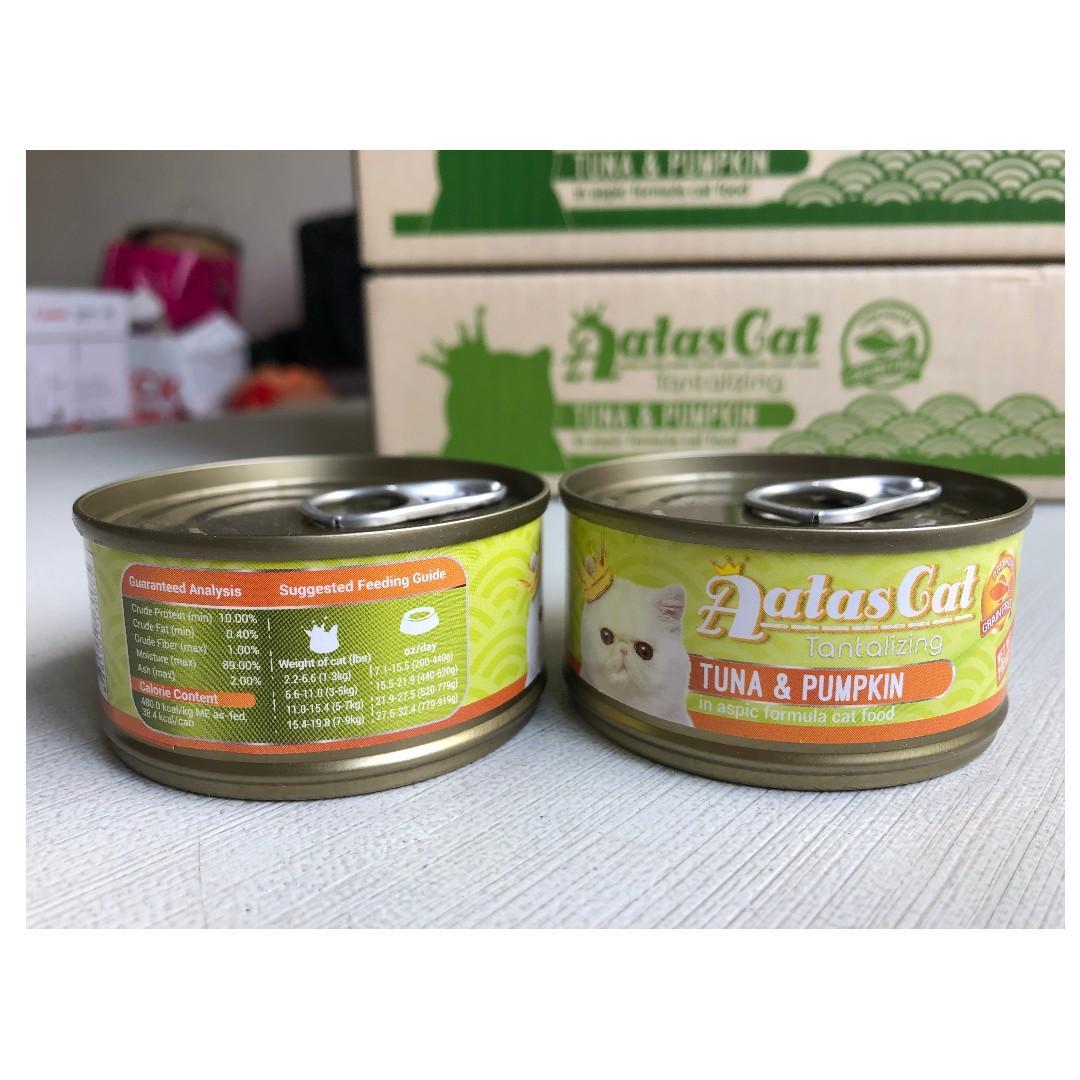 Aatas Cat Food - Sale 3 cartons only