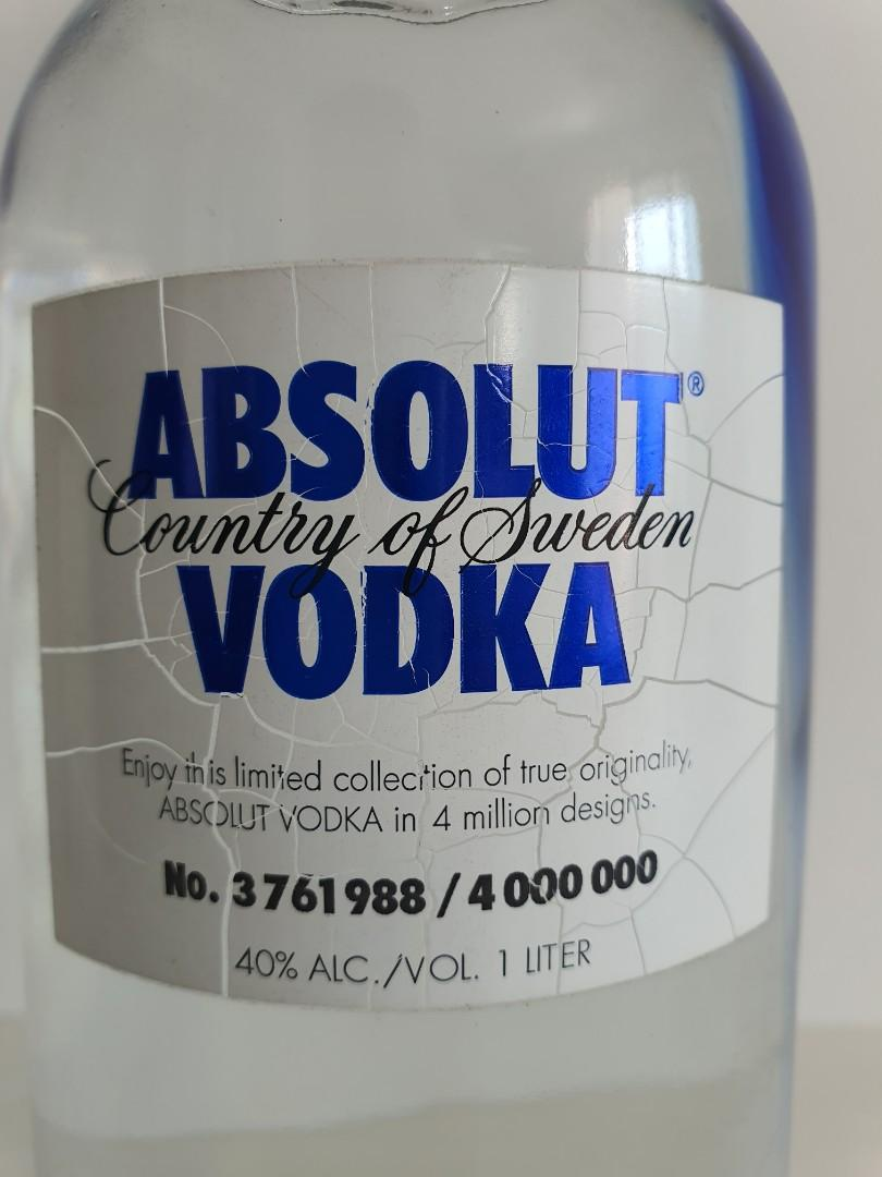 Absolut Vodka  ABSOLUT Originality - Limited Edition