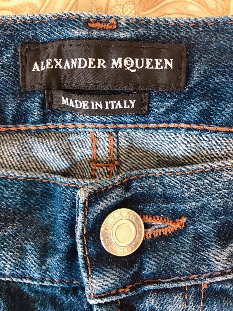 Alexander McQueen Denim Levi's UC  Burberry Mastermind
