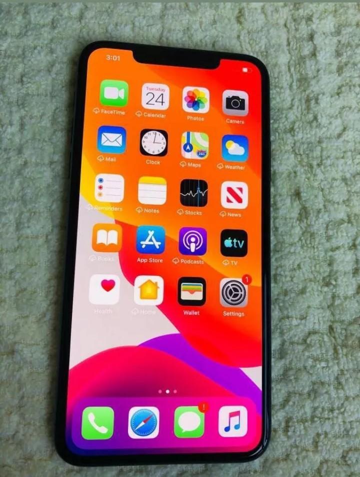 Apple iPhone 11 Pro Max, 256GB, Midnight Green, Fully Unlocked