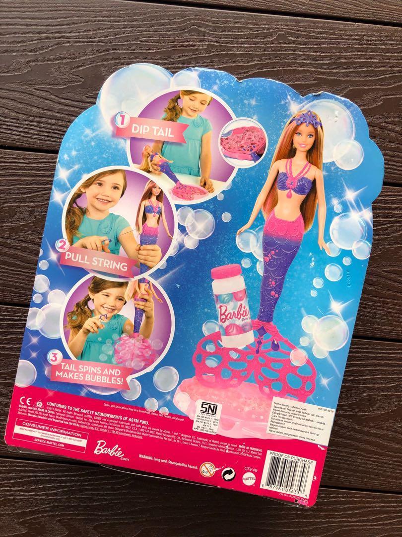 Barbie Bubble tastic Mermaid