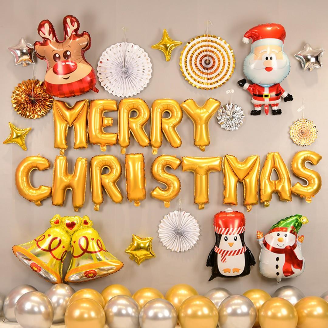 Basic Christmas Balloon Decoration Pack