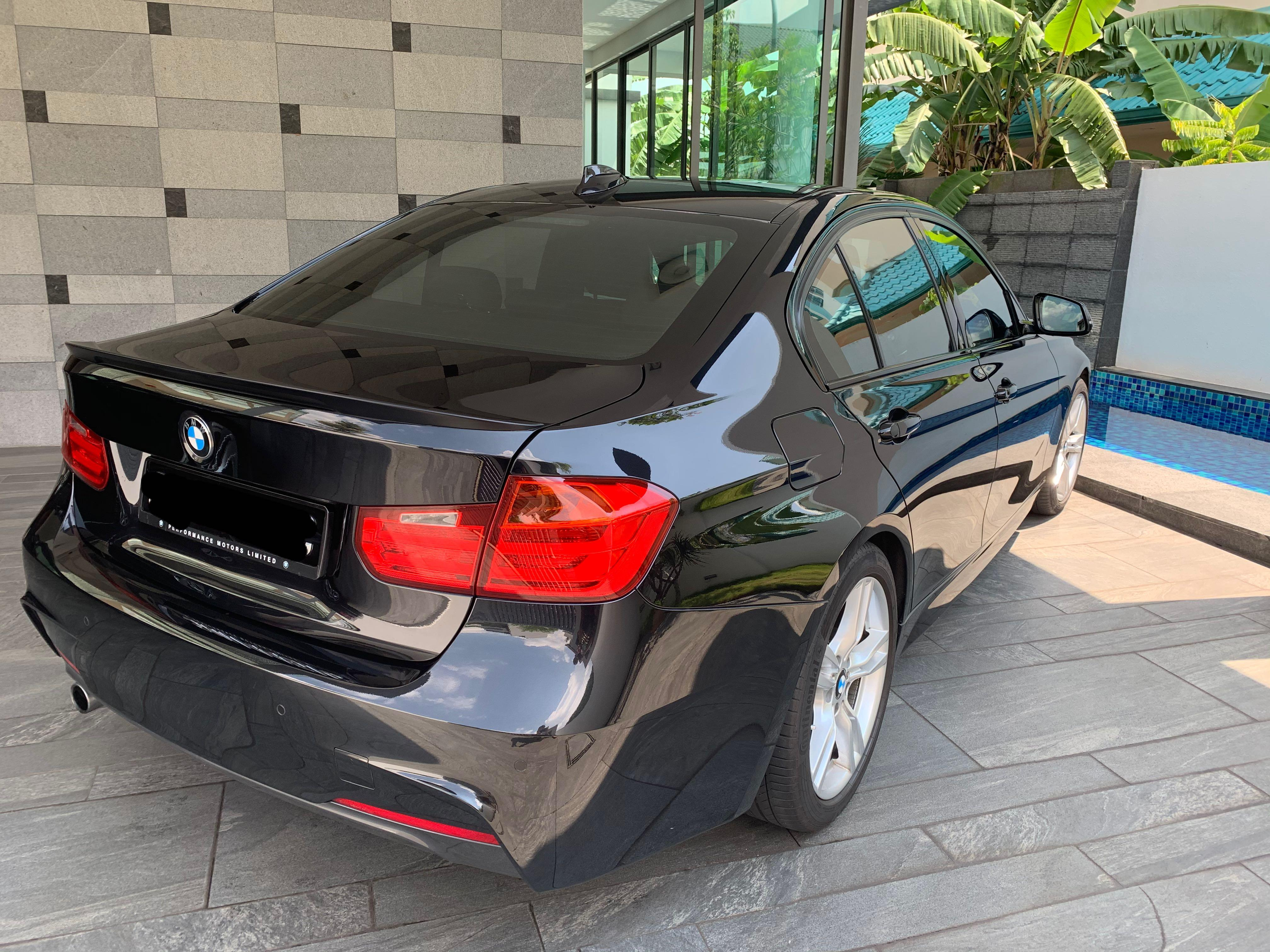Personal car for hire! Bmw f30 director 6th car for quick rental lease leasing cheap promotion. M sport model. Low fuel consumption