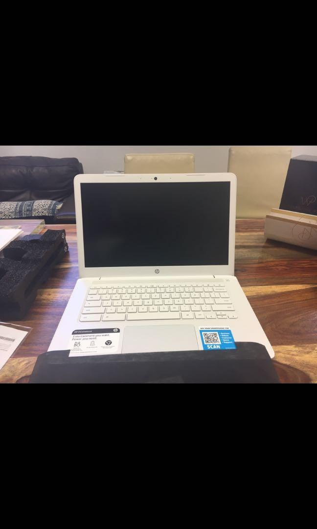 Brand new hp laptop in sealed box with factory warrenty