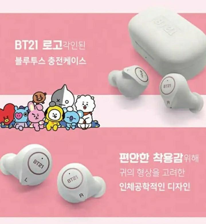 BT21 Bluetooth Earphone