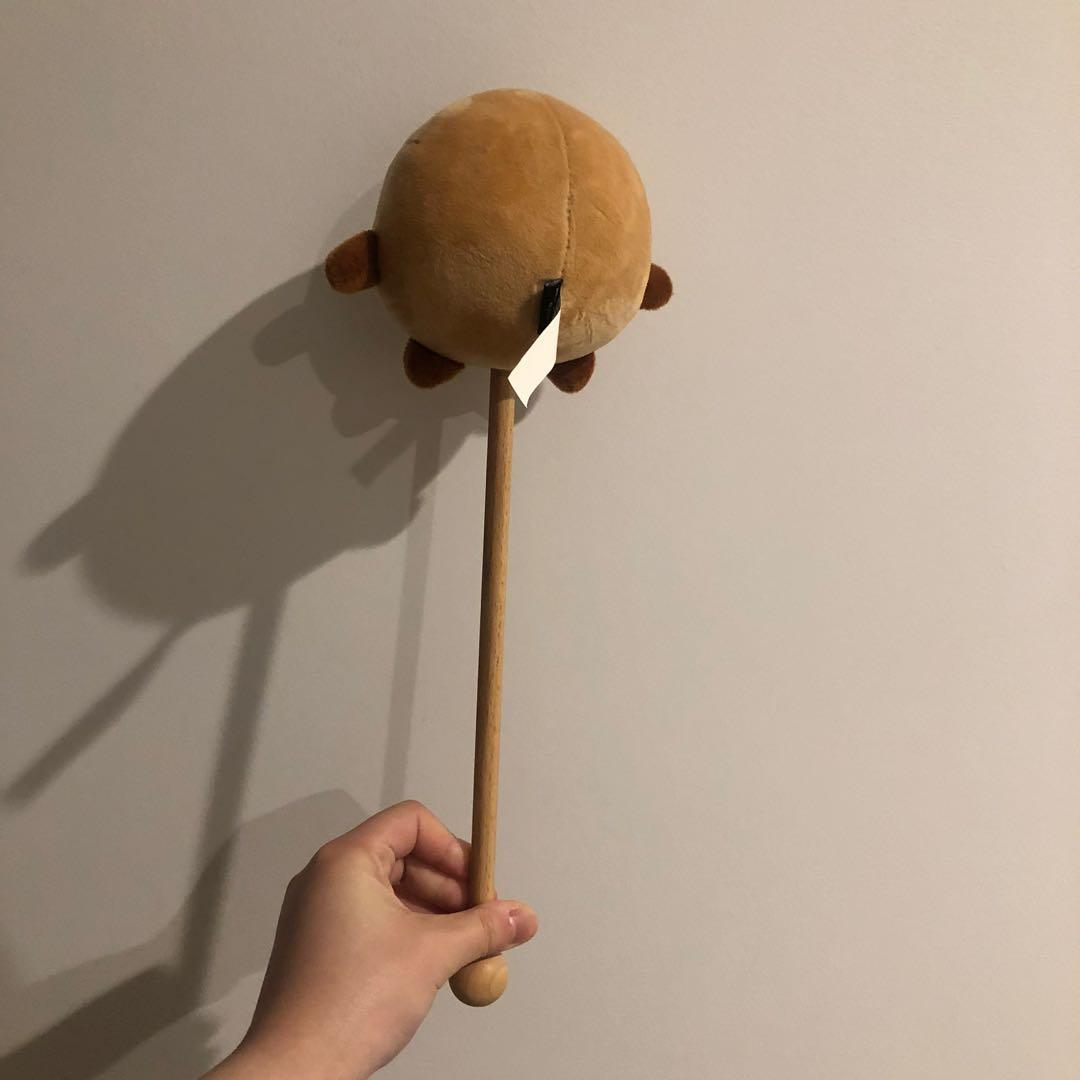BT21 RJ CLEANSING BAND / SHOOKY PLUSHIE / SHOOKY  MASSAGE STICK (SEE DESCRIPTION FOR PRICE)