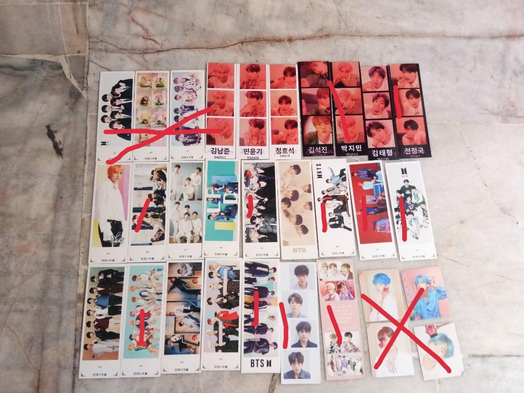 BTS Photostrips