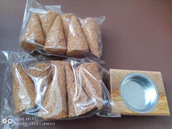 California Imported Palo Santo incense cones aromatherapy smudge