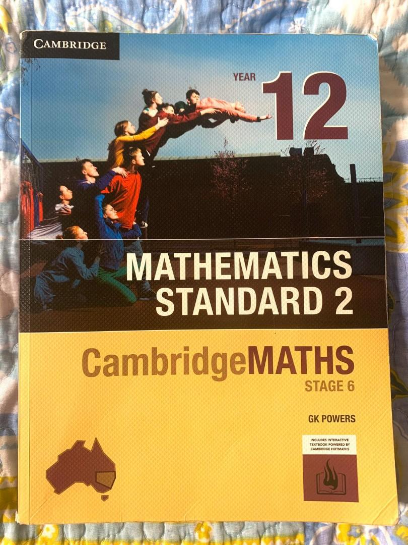 Cambridge Mathematics Standard 2 Year 12 textbook GK Powers
