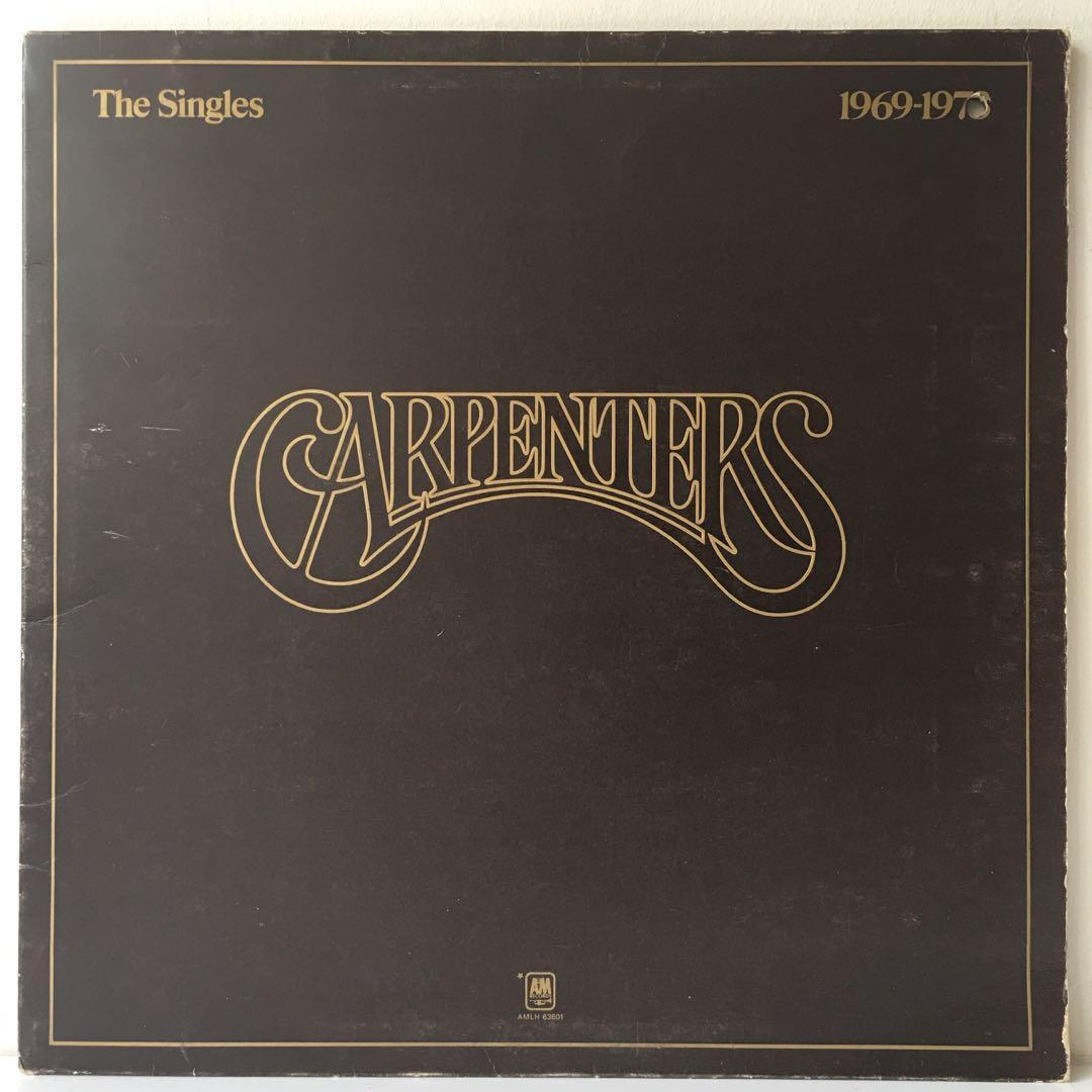 Carpenters – The Singles 1969-1973 (1973 US Original in Gatefold Sleeve - Vinyl is Very Good)
