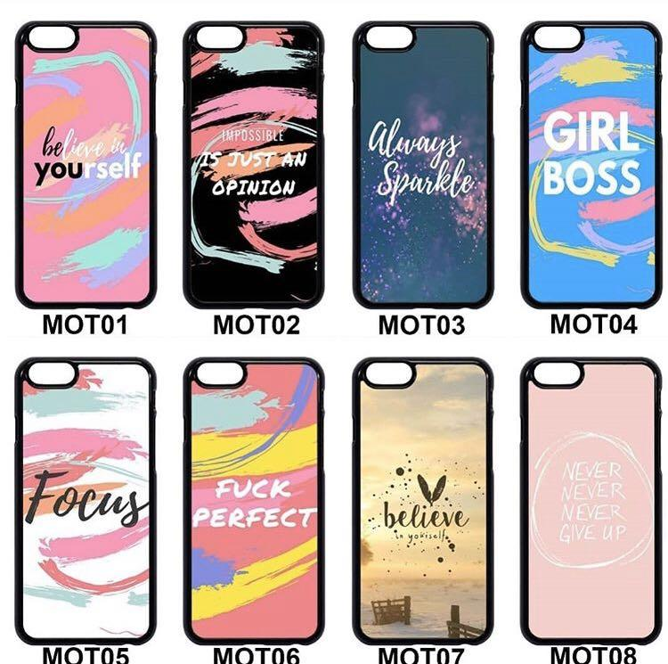 ✖️CASINGS✖️Motto Phone Cases
